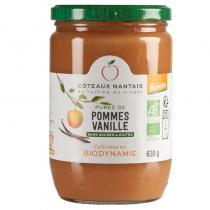 Côteaux Nantais - Purée pommes vanille 630 g
