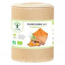 Bioptimal - Curcuma Bio - Articulation Digestion - Curcumine - 200 gélules