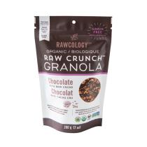 Rawcology - Granola au chocolat sans sucre ajouté Rawcology - 200g
