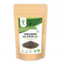 Bioptimal - Graines de Chia Bio - 150g - Fibres Transit Digestion Oméga 3