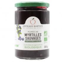 Côteaux Nantais - Purée myrtilles 350 g