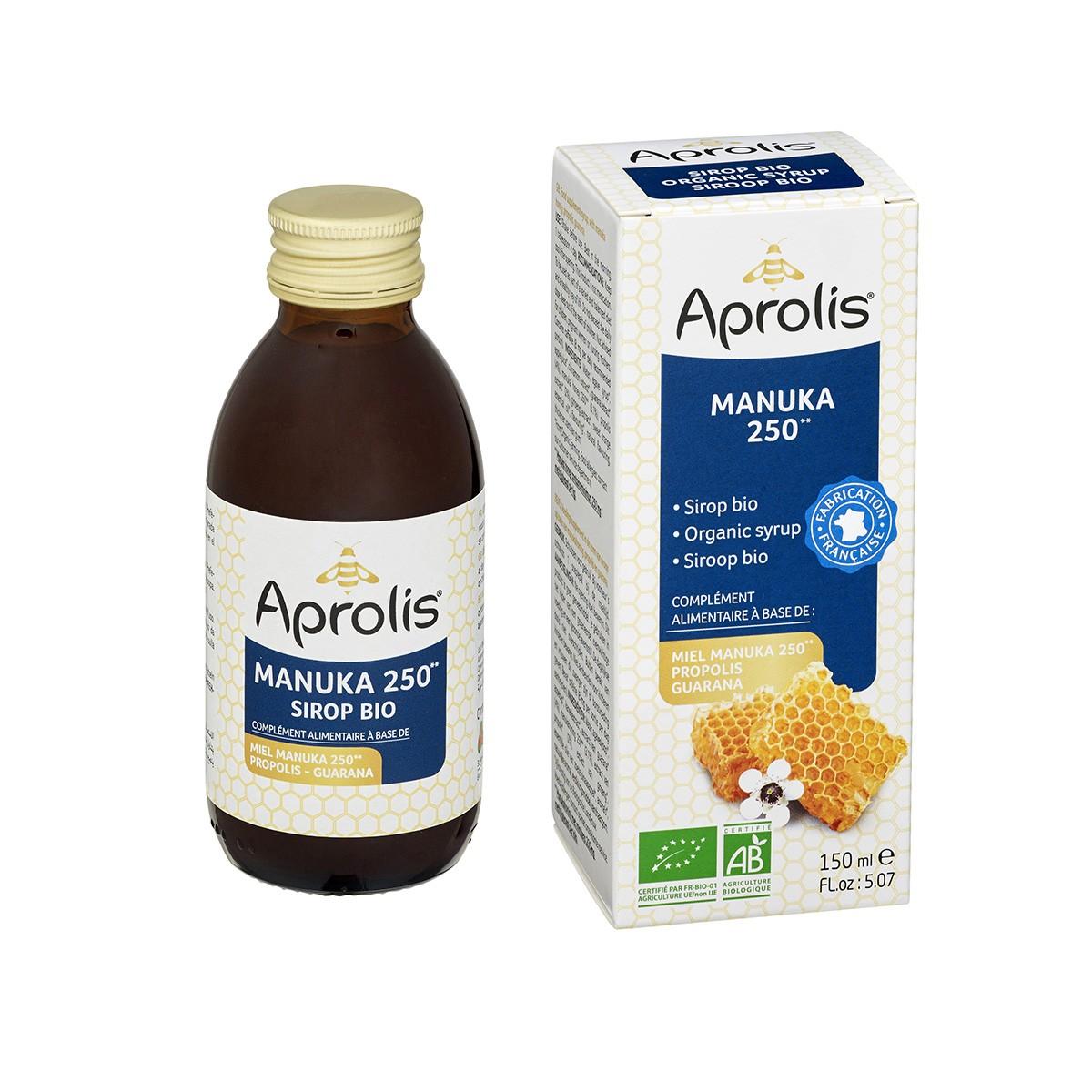 Aprolis - Sirop au Miel de Manuka 150ml Bio