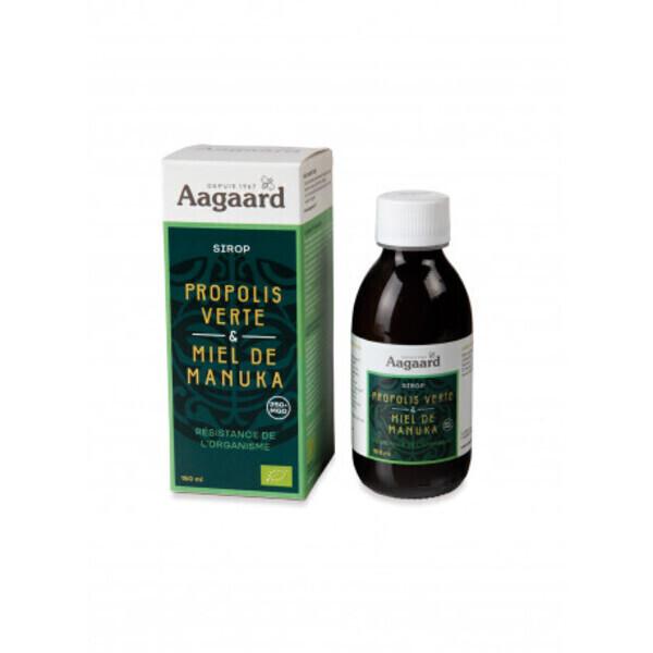 Aagaard Propolis - Sirop à la Propolis Verte & Miel de Manuka - 150 ml