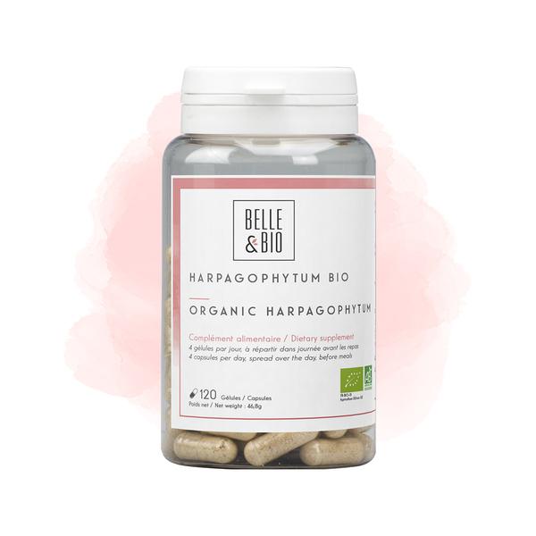 Belle & Bio - Harpagophytum Bio - Articulation - 120 Gélules - Certifié AB par