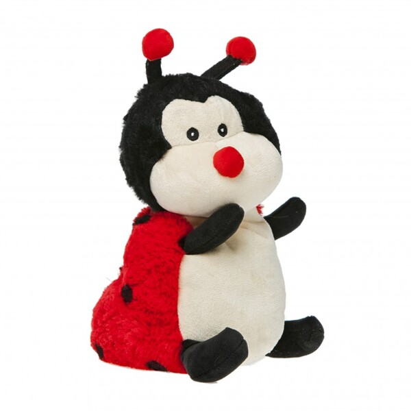 Pelucho - Peluche Bouillotte Coccinelle - Made in France