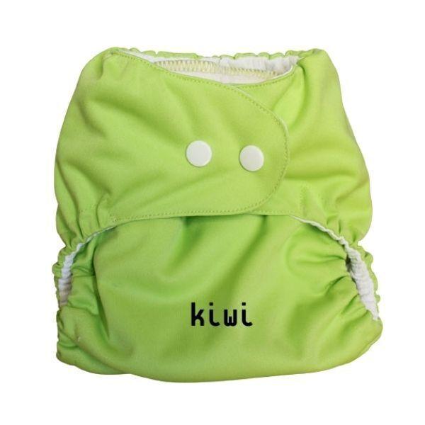 P'tits Dessous - Couche lavable bébé So Easy, Taille 1 (3-9 kg) - Kiwi