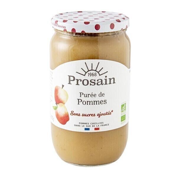 ProSain - Purée de pommes sans sucres ajoutés 820g bio