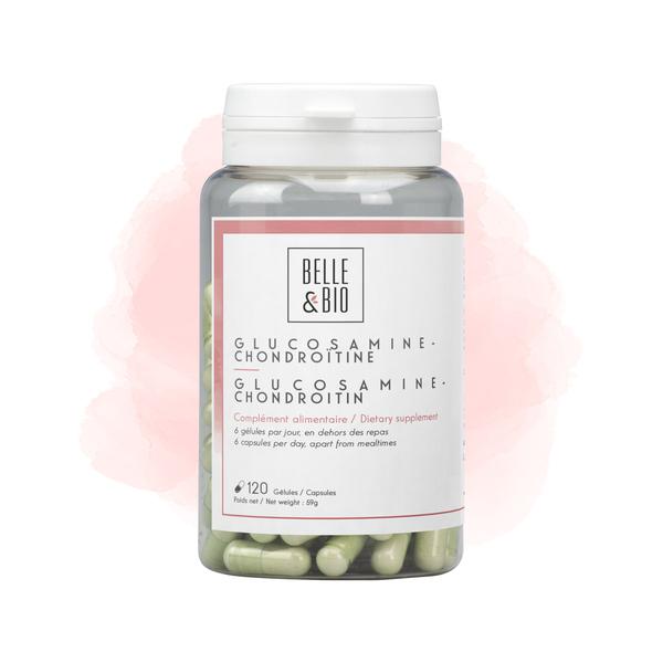 Belle & Bio - Glucosamine Chondroïtine - Articulation - 120 Gélules - Certifié
