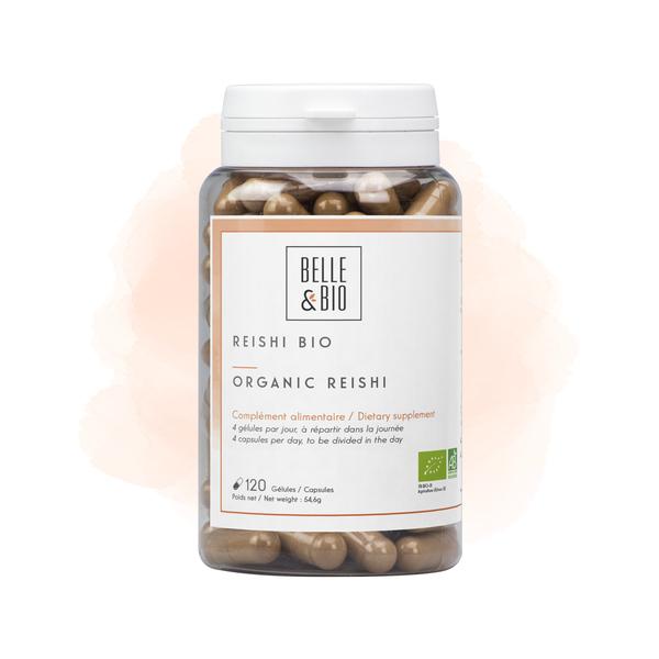 Belle & Bio - Reishi Bio - 120 Gélules - Certifié AB par Ecocert