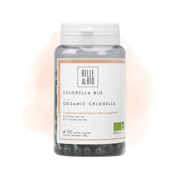 Belle & Bio - Chlorella Bio - 120 Gelules - Certifie AB par Ecocert