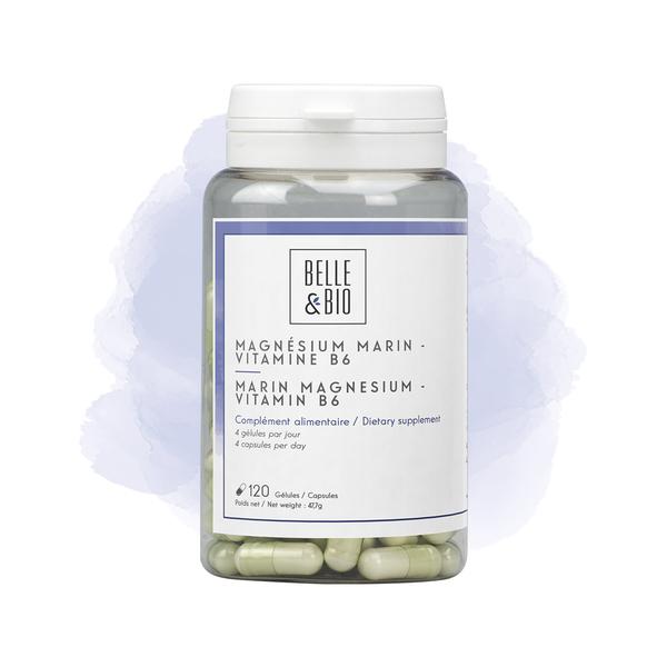 Belle & Bio - Magnesium Marin/Vitamine B6 - 120 Gelules