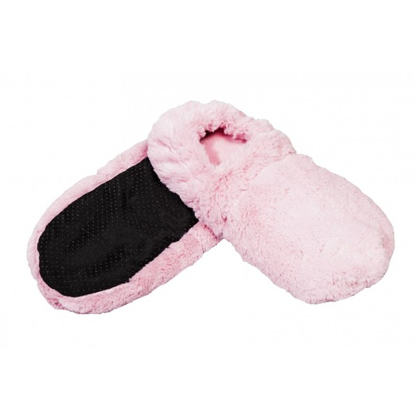 Pelucho - Chaussons chauffants Roses-Made in France