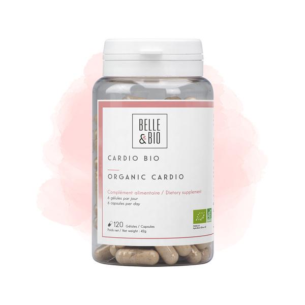 Belle & Bio - Cardio Bio - 120 Gelules - Certifie AB par Ecocert