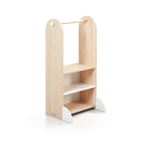 Micuna - Portant pour vêtements et étagère à chaussures Montessori