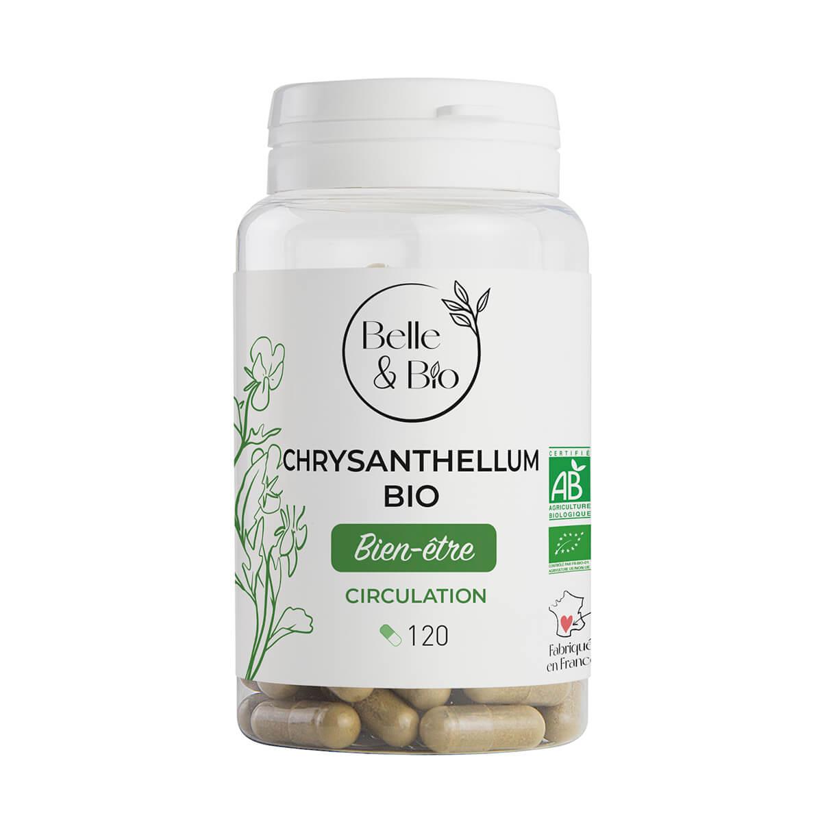 Belle & Bio - Chrysanthellum Bio - Dépuratif - 120 Gélules