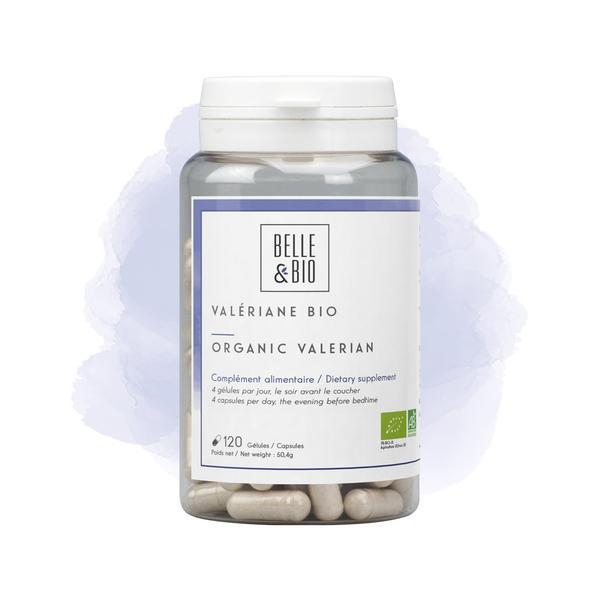 Belle & Bio - Valériane Bio - Détente - 120 Gélules - Certifié AB par Ecocert