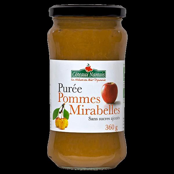 Côteaux Nantais - Purée pommes mirabelles 360 g