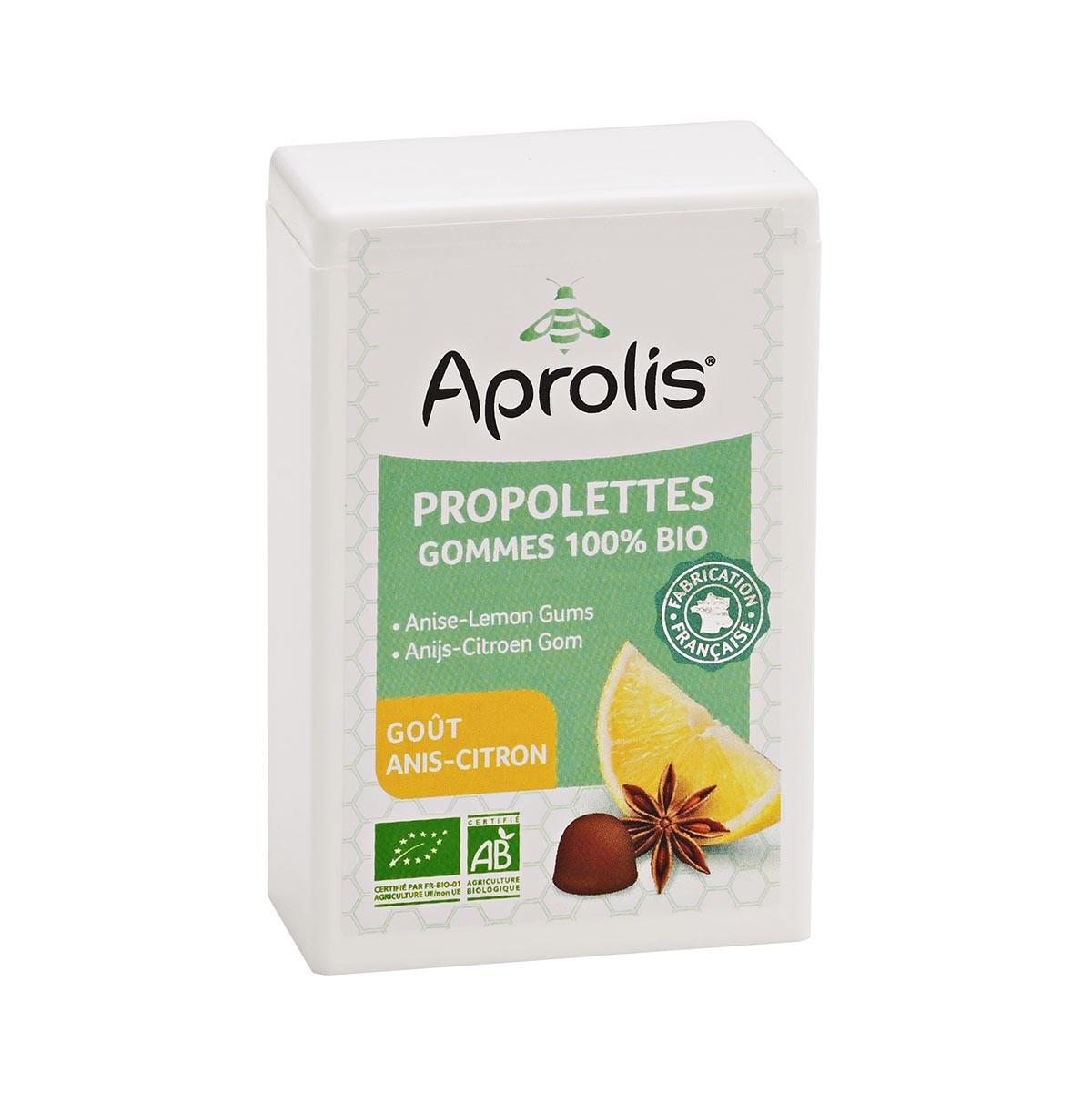 Aprolis - Propolettes Anis-Citron 50g Bio