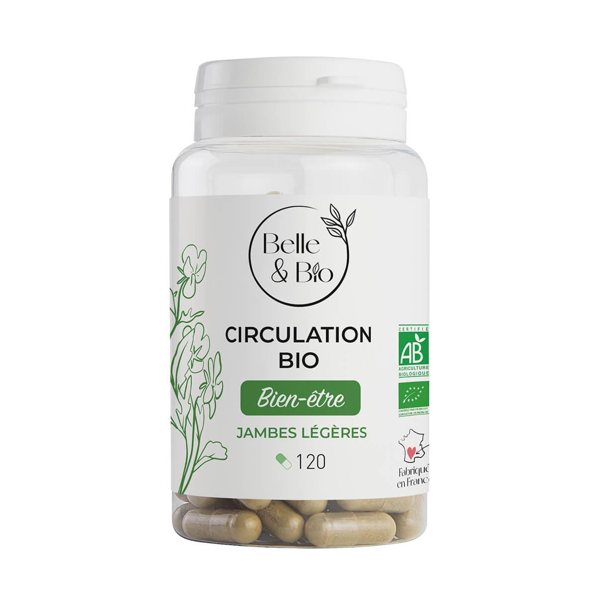 Belle & Bio - Circulation Bio - 120 Gelules - Certifie AB par Ecocert