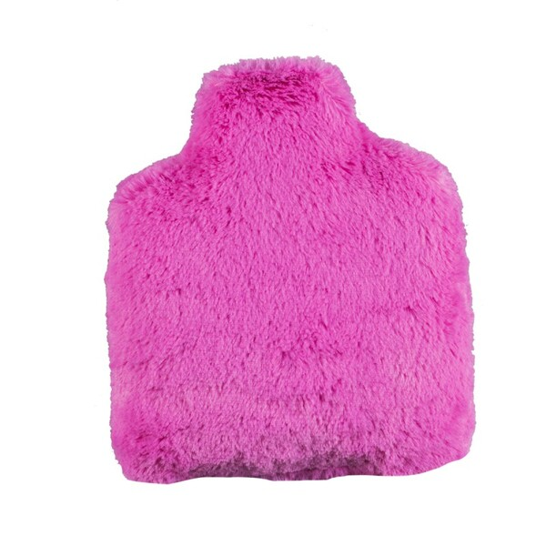 Pelucho - Bouteille   Bouillotte micro-ondes Fuchsia   -   Made in France