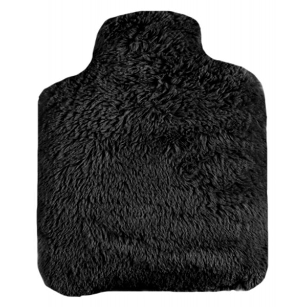 Pelucho - Bouteille Bouillotte micro-ondes Noire - Made in France