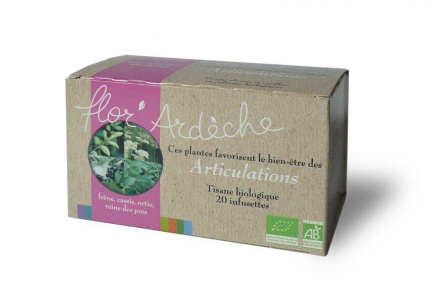 Flor'Ardèche - Infusions Articulations Bio Flor'Ardèche