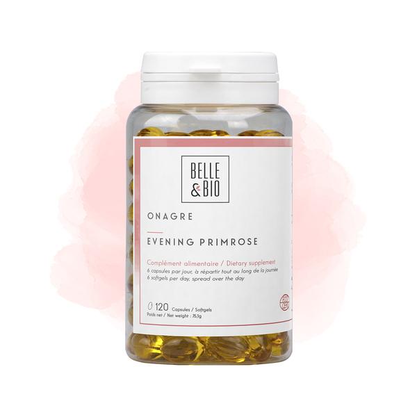 Belle & Bio - Onagre - Bien-Être - 120 Capsules - Certifié par Ecocert