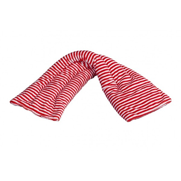 Pelucho - Bouillotte tour de cou Rayé rouge-Made in France