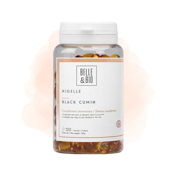 Belle & Bio - Nigelle - 120 Capsules - Certifié par Ecocert