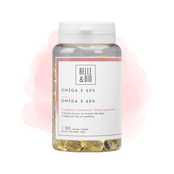 Belle & Bio - Oméga 3 + - Bien-Être - 120 Capsules
