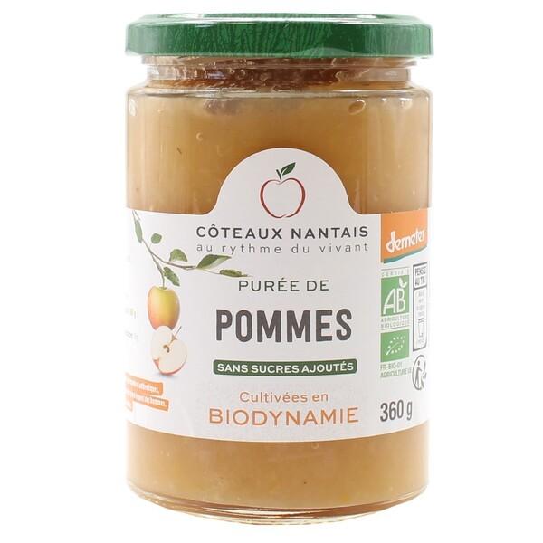 Côteaux Nantais - Purée pommes 360 g Demeter
