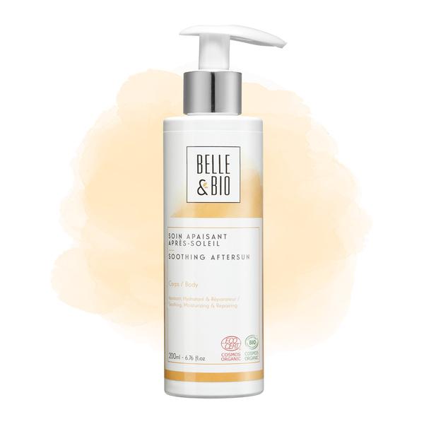Belle & Bio - Soin Apaisant Après Soleil - 200 ml - Certifié Cosmos