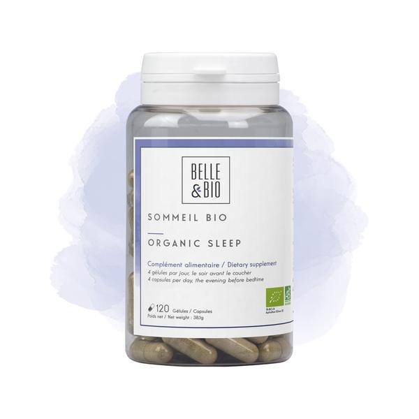 Belle & Bio - Sommeil Bio - 120 Gélules - Certifié AB par Ecocert