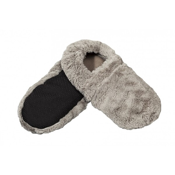 Pelucho - Chaussons chauffants Gris-Made in France