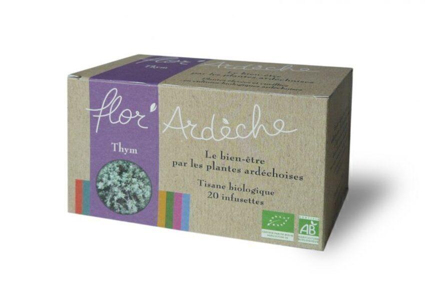 Flor'Ardèche - Infusions Thym Bio Flor'Ardèche
