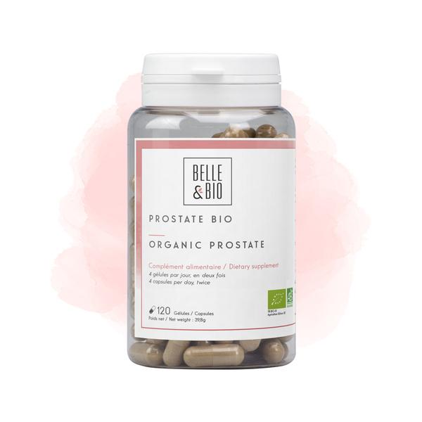Belle & Bio - Prostate Bio - Bien-Être - 120 Gélules - Certifié AB par Ecocert