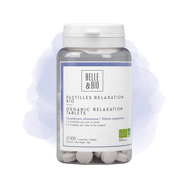 Belle & Bio - Pastilles Relaxation Bio x 100 - Certifié AB par Ecocert