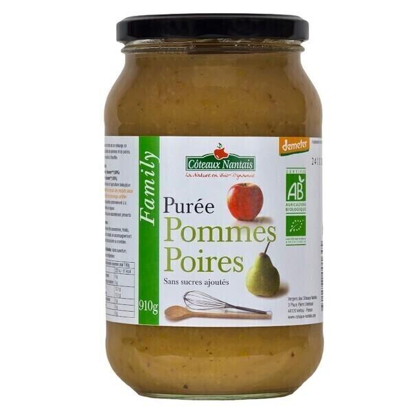 Côteaux Nantais - Purée pommes poires 910 g