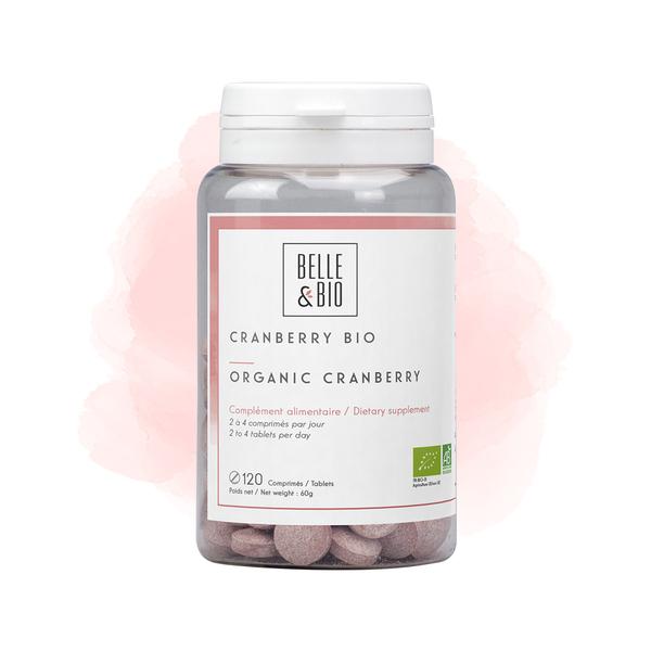 Belle & Bio - Cranberry Bio - 120 Comprimes - Certifie AB par Ecocert