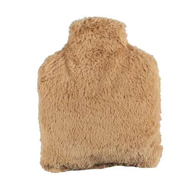 Pelucho - Bouteille   Bouillotte micro-ondes Caramel   -   Made in France