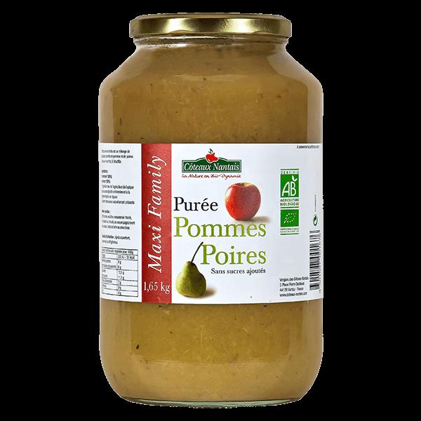 Côteaux Nantais - Purée pommes poires 1.65 kg