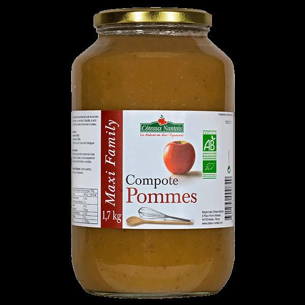 Côteaux Nantais - Compote pommes 1.7 kg