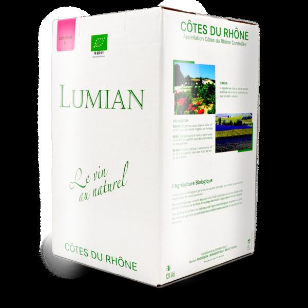 Domaine de Lumian - A.O.C. Côtes du Rhône BIB 5 l rosé - Domaine de Lumian