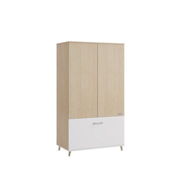 Micuna - Armoire Nature blanc 185x103x57 cm