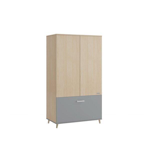 Micuna - armoire Nature gris foncé 185x 103x57 cm