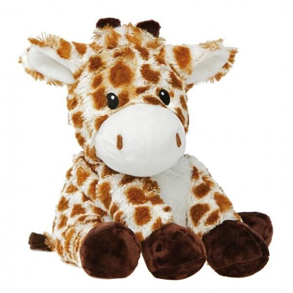Pelucho - Peluche Bouillotte Girafe - Made in France