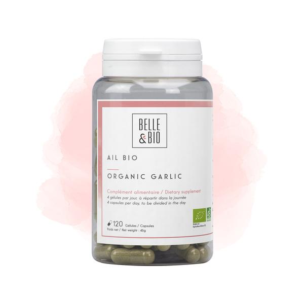 Belle & Bio - Ail Bio - Circulation -120 Gélules - Certifié AB par Ecocert