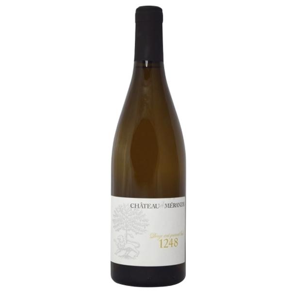 André Genoux - AOC Savoie bio - Château de Mérande - Apremont 1248 blanc 2018