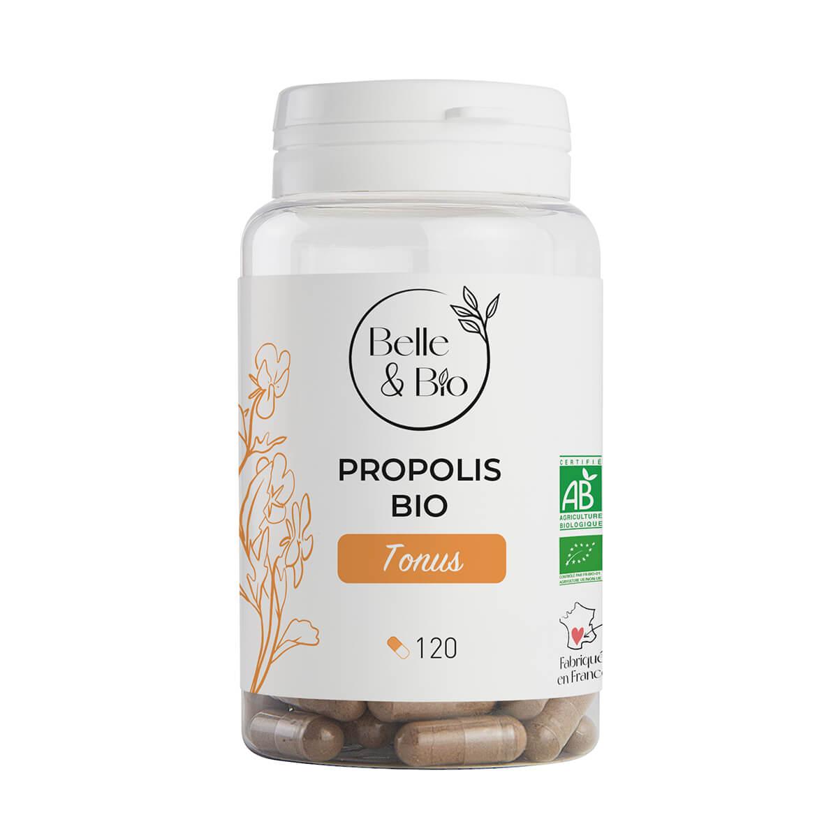 Belle & Bio - Propolis Bio - 120 Gélules - Certifié AB par Ecocert