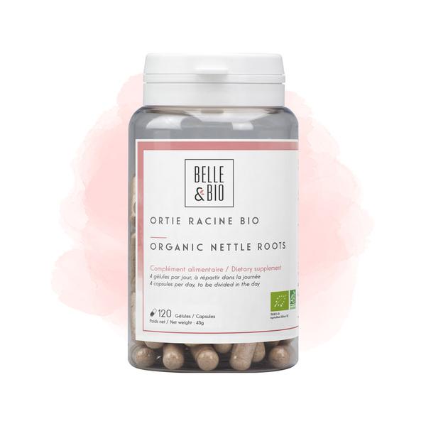 Belle & Bio - Ortie Racine Bio - 120 Gélules - Certifié AB par Ecocert